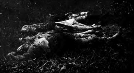 1914. Krivaja, 17 august. Țărani masacrați la ordinul maiorului austriac Balzarek.